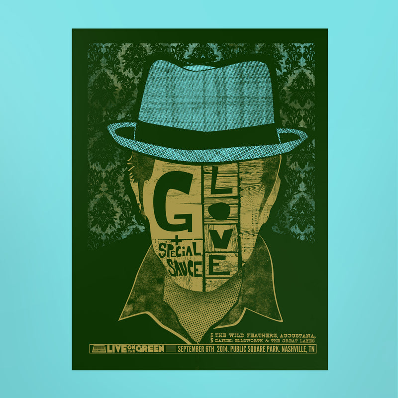G. Love + Special Sauce Poster - Live on the Green