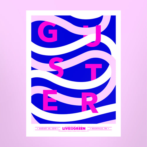 Guster Poster - Live on the Green