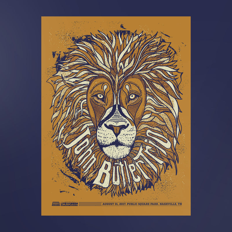 John Butler Trio Poster - Live on the Green