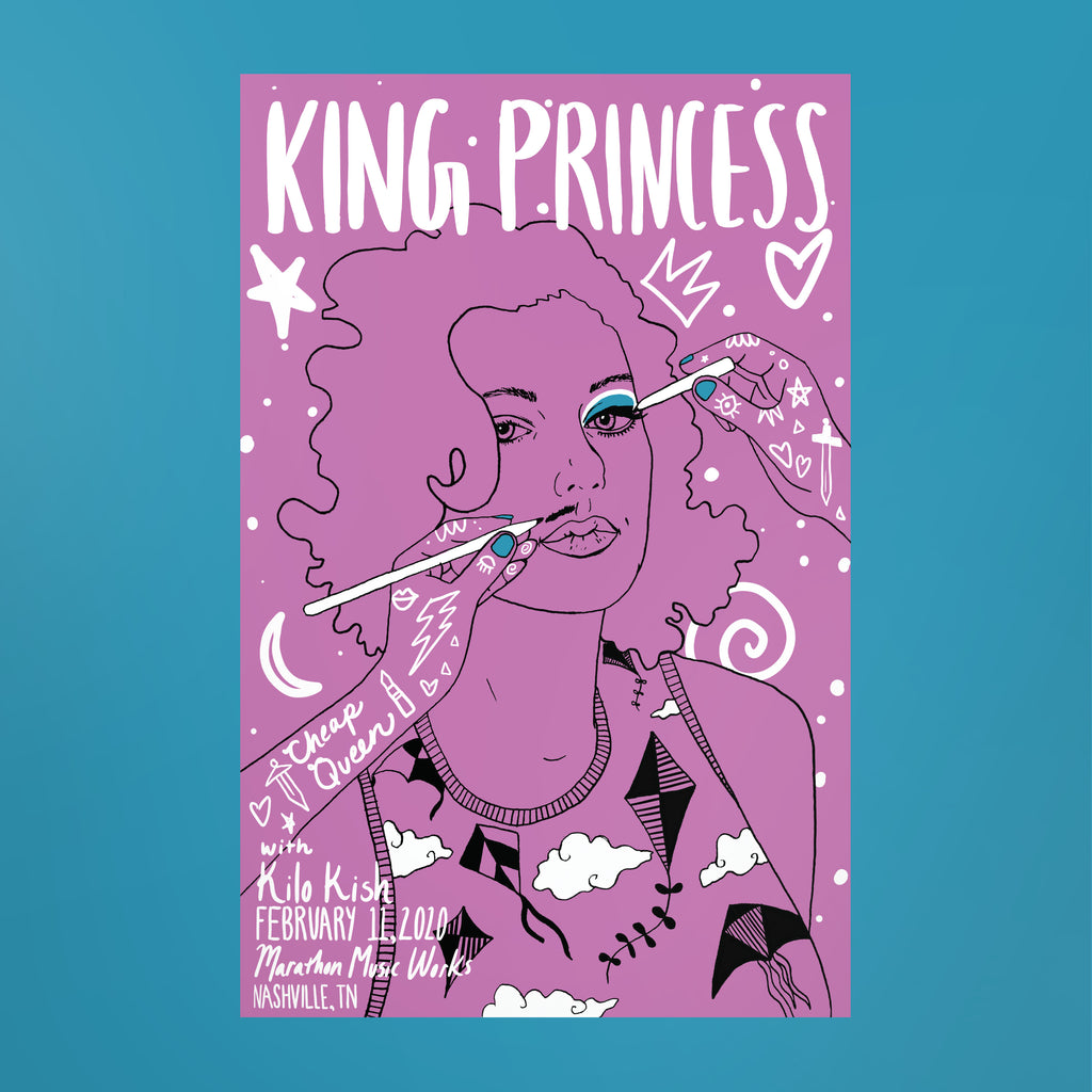 King Princess Poster