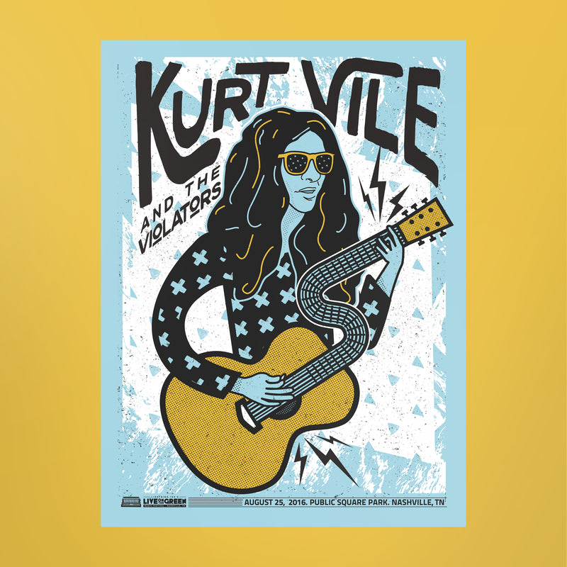 Kurt Vile Poster - Live on the Green