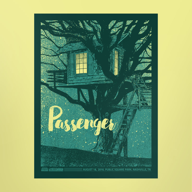Passenger Poster - Live on the Green