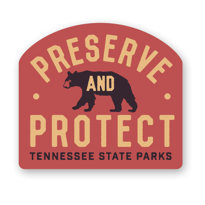 TNSP - Preserve and Protect Sticker