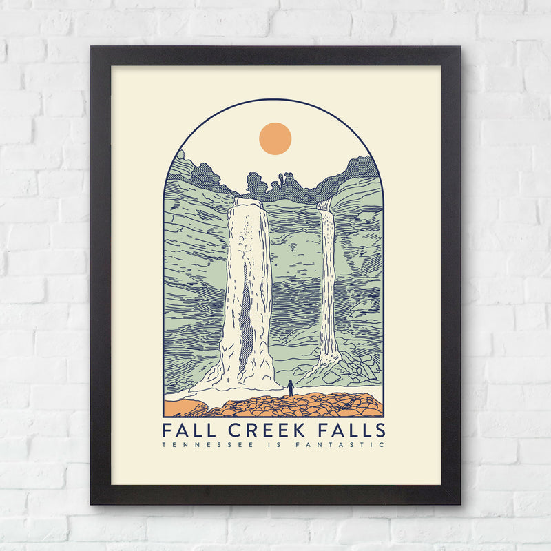 8x10 Fall Creek Falls Print