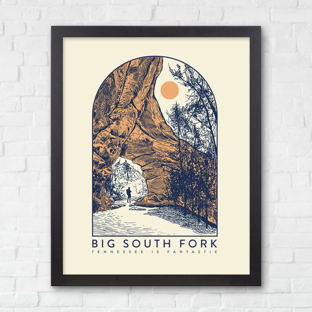 8x10 Big South Fork Print