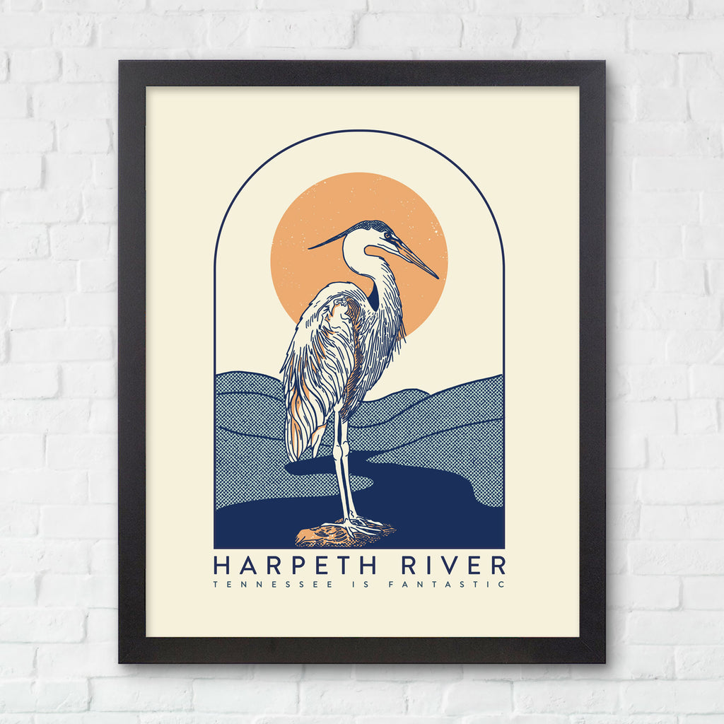 8x10 Harpeth River Print