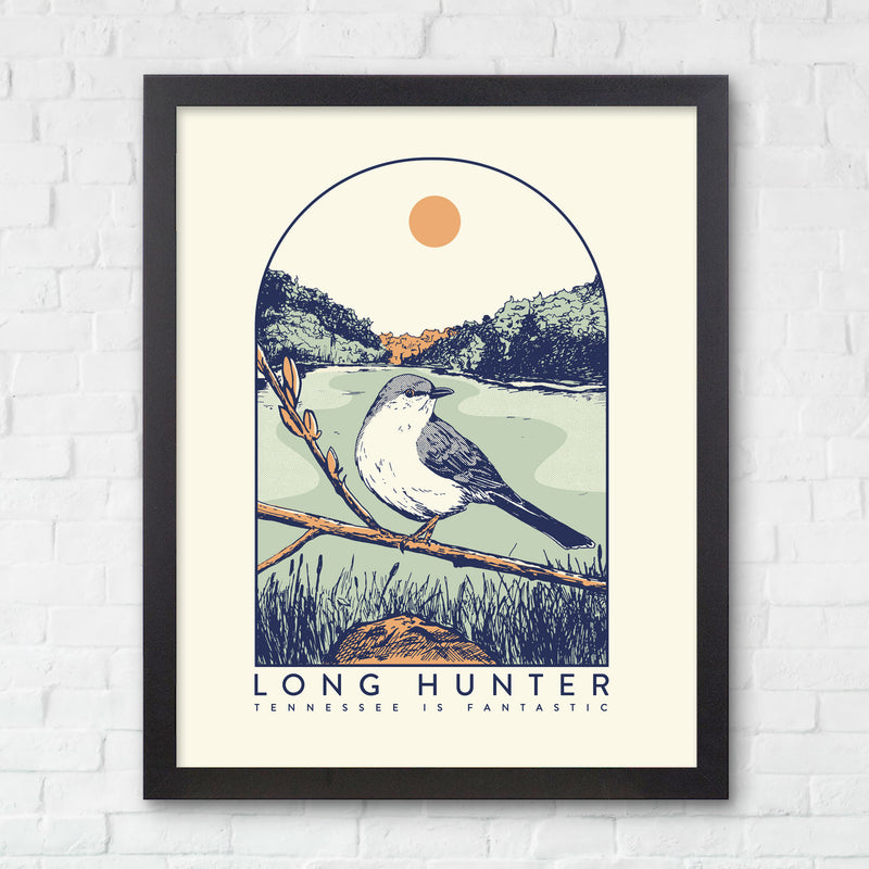 8x10 Long Hunter State Park Print