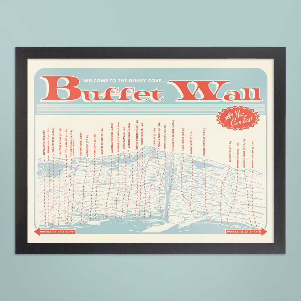 Denny Cove Buffet Wall Print