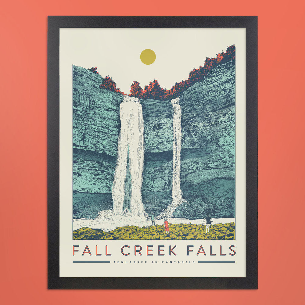 Fall Creek Falls Print