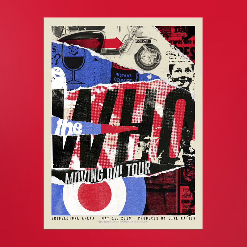 The Who Poster - Bridgestone Arena
