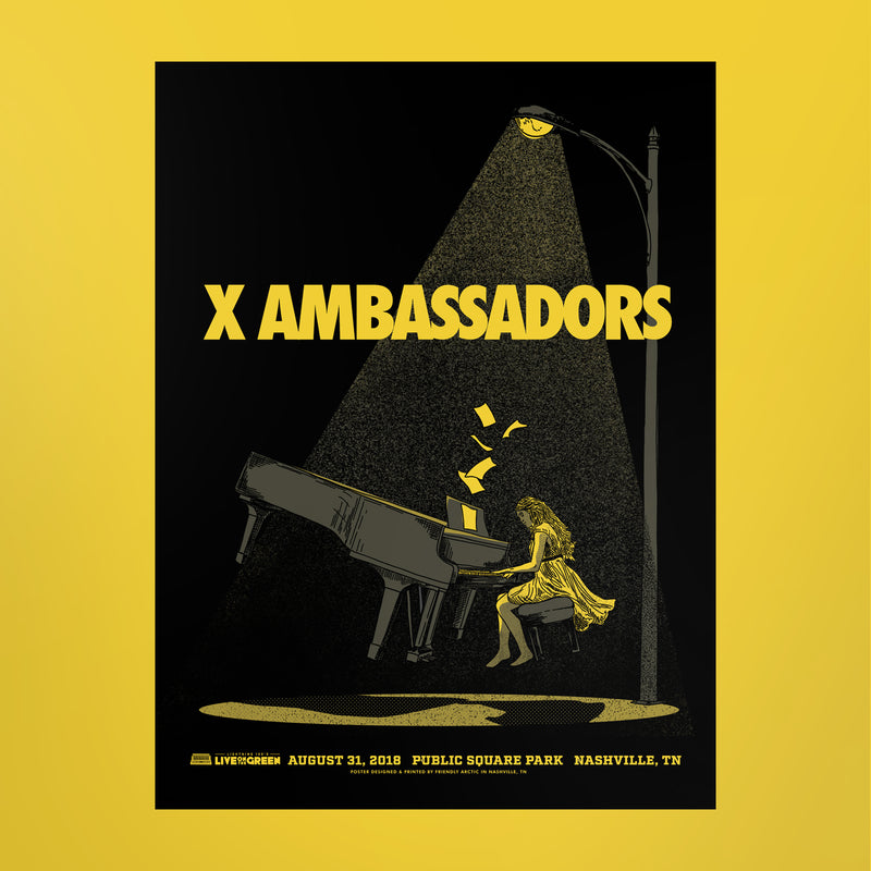 X Ambassadors Poster - Live on the Green
