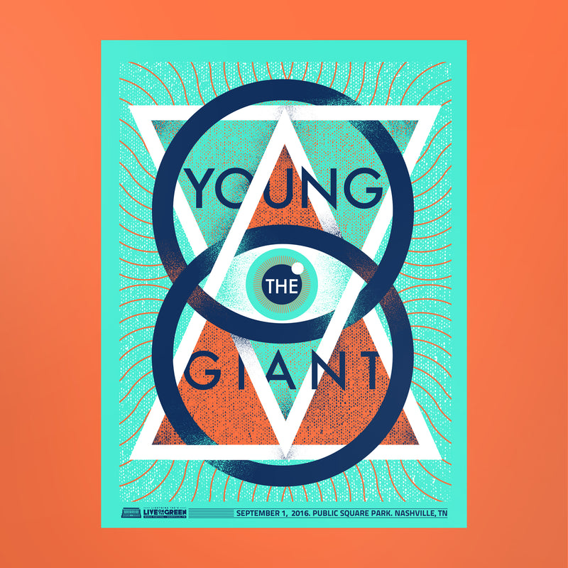 Young the Giant Poster - Live on the Green