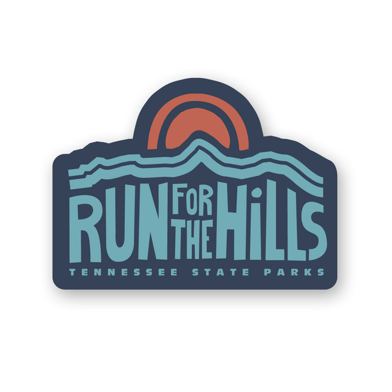 TNSP - Run for the Hills Sticker
