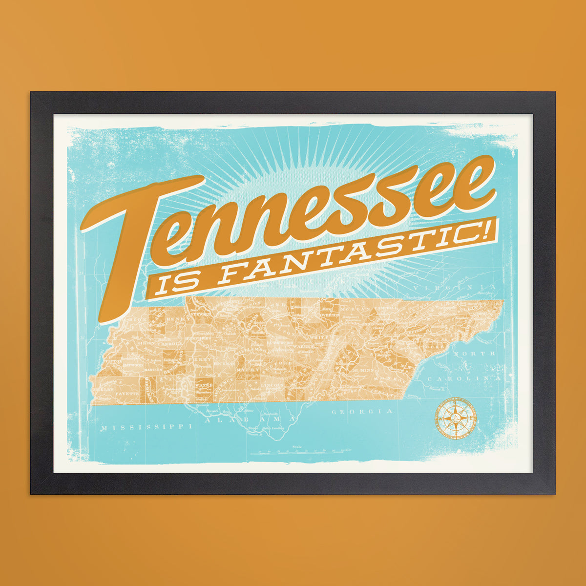 Original Tennessee is Fantastic Print