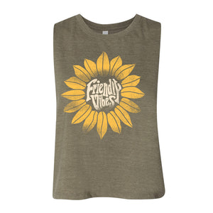 Friendly Vibes Crop Tank