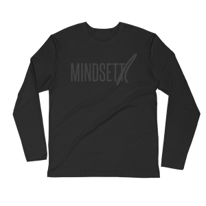 MINDSETTR - Long Sleeve Fitted Crew