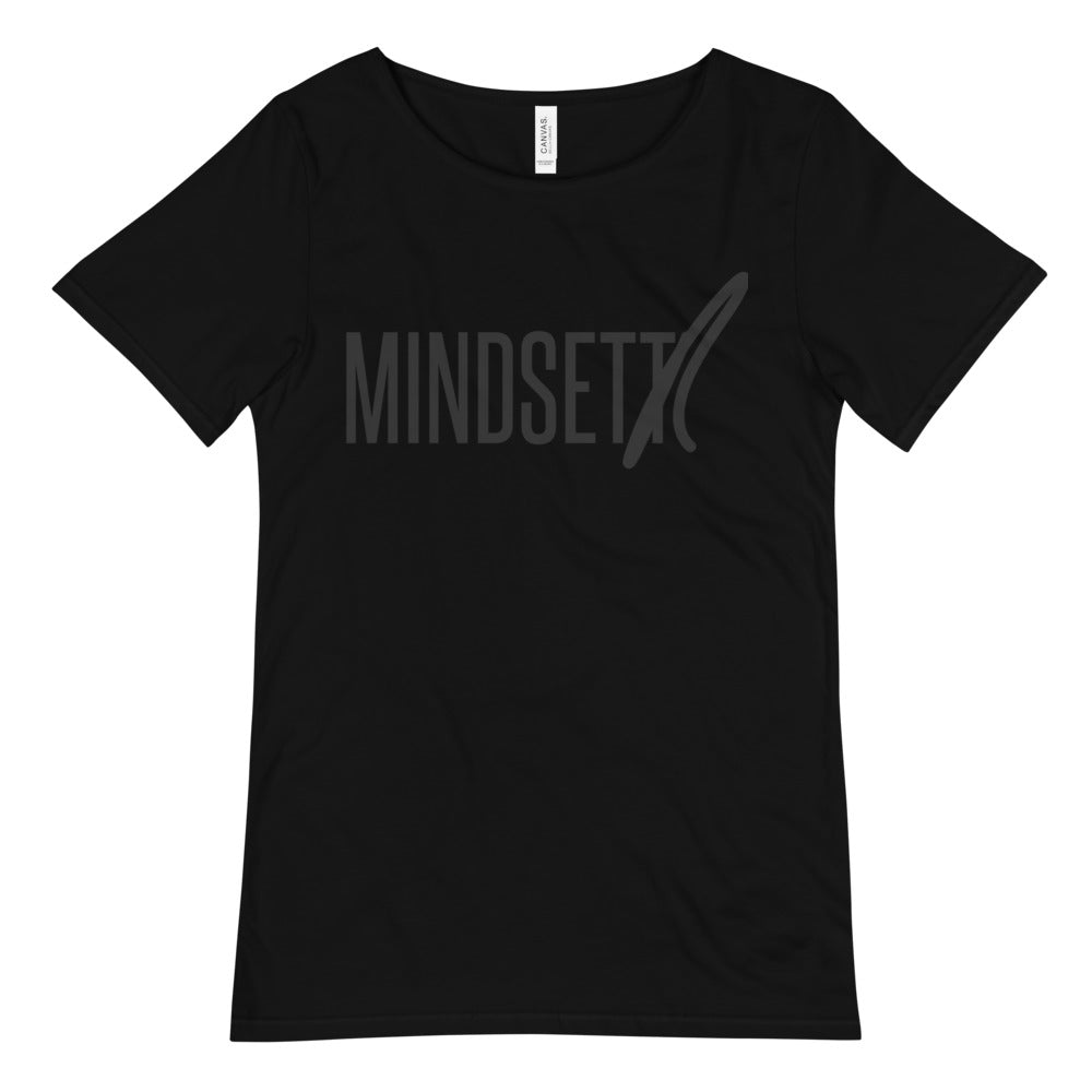 MINDSETTR - Men's Raw Neck Tee