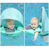 Mambobaby Solid Non-inflatable Baby Swimming Floating Neck Float Swim Ring Swim Trainer Swimming Pool Toys For Baby 1-3 years