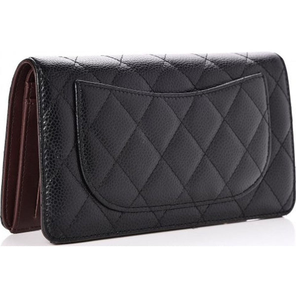 8b698e06e60230 Card Holder Quilted Diamond Black – Beauty Luck