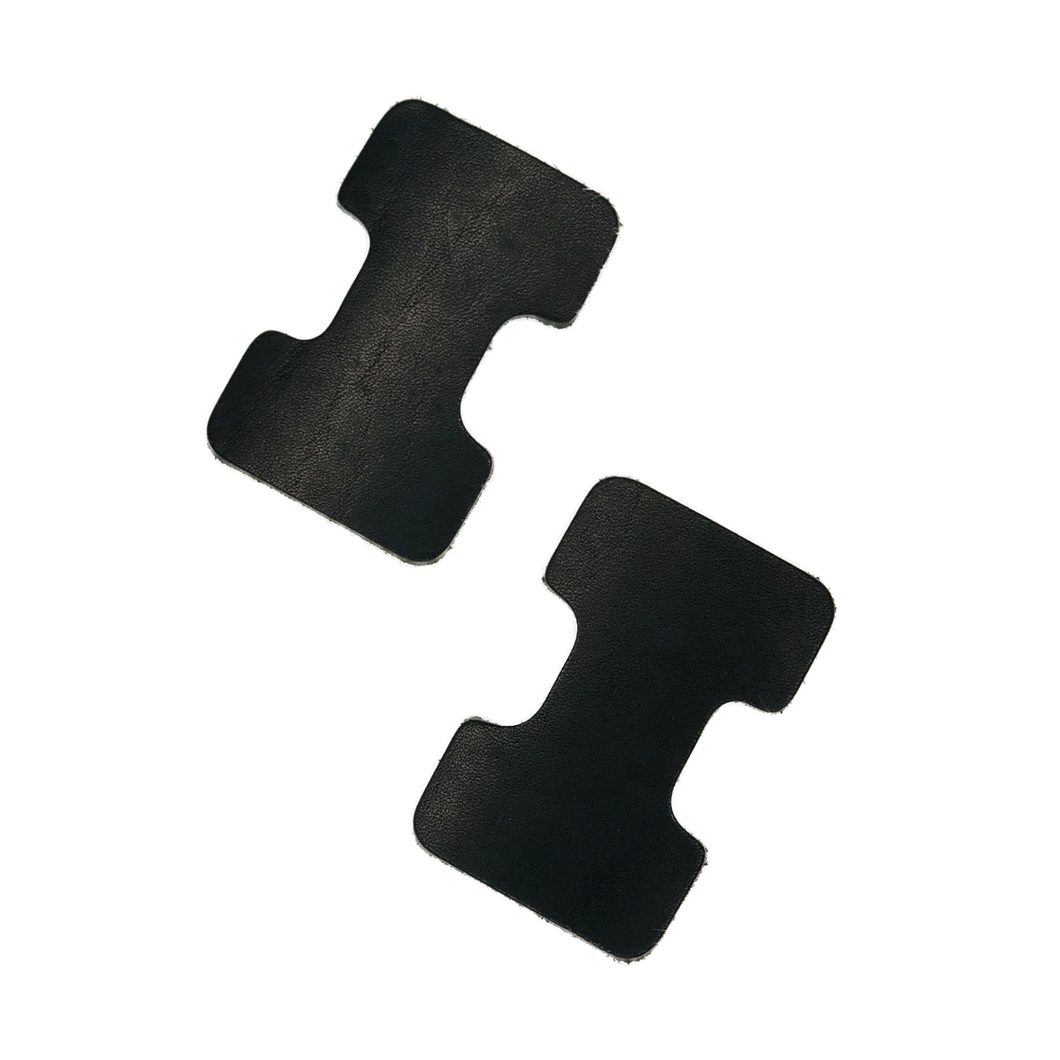 Strap Connector Kit | Horween Dublin Black