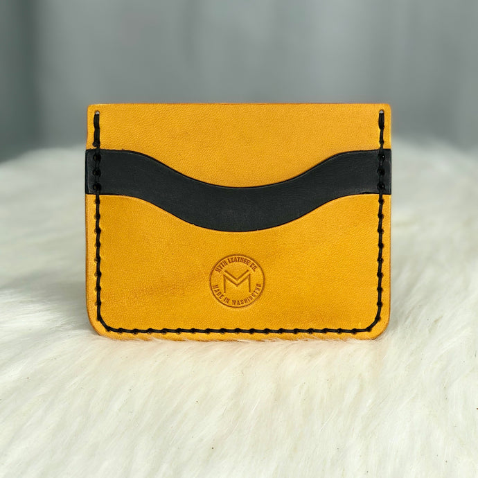 Minimalist Wallet | Yellow / Black