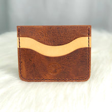 Load image into Gallery viewer, Minimalist Wallet | Cognac / Natural