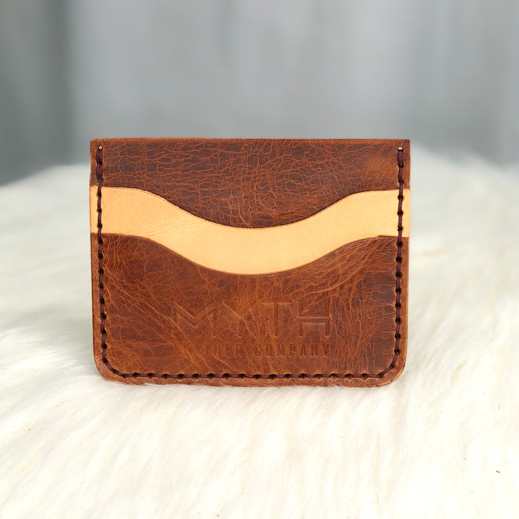 Minimalist Wallet | Cognac / Natural