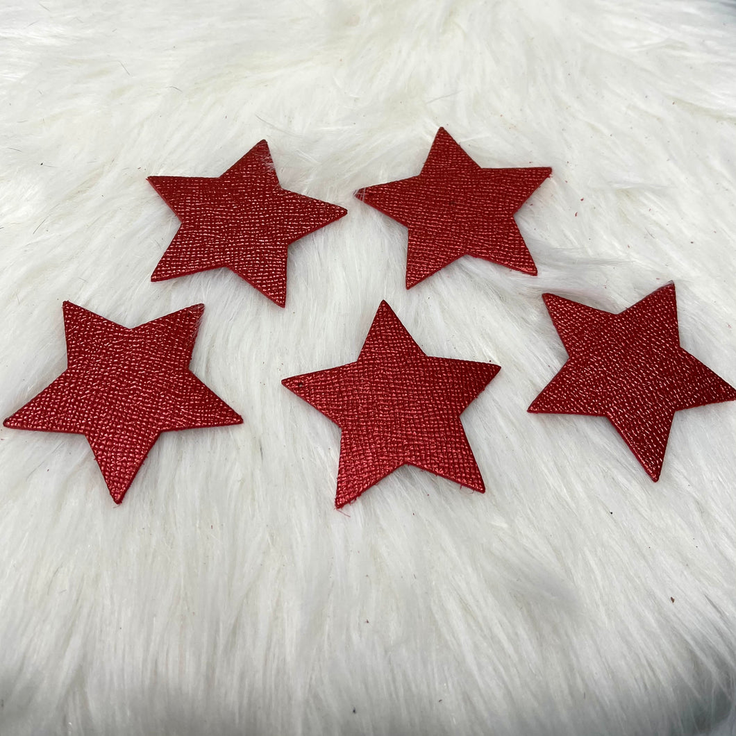 Star Ornament | Metallic Red
