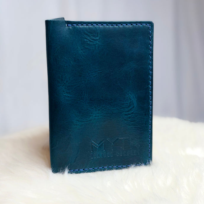 Iona | Passport Wallet | Blue / Blue