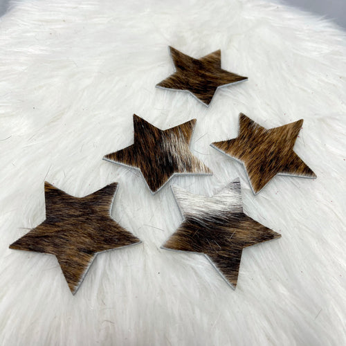 Star Ornament | Hair-on-hide