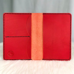 Iona | Passport Wallet | Red