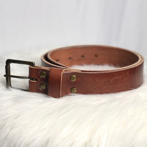 Myth Belt - Medium Brown