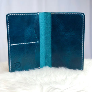Iona | Passport Wallet | Blue / White