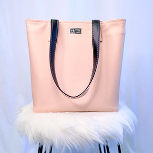 Simple Tote | Pink / Black