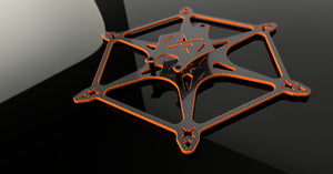 Shruik3n V2.0 3-inch hex FPV drone frame for HD video footage