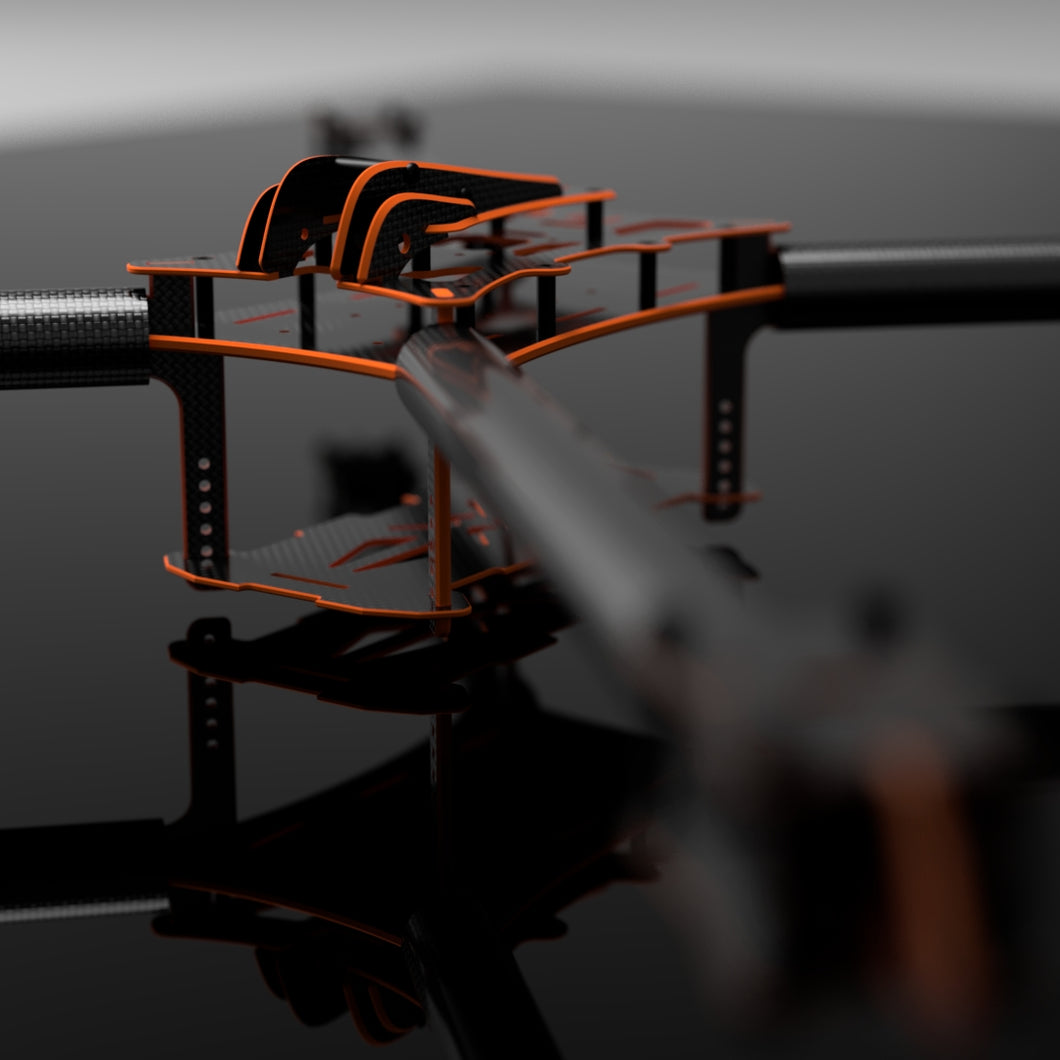 THE CHIEF Xclass racing FPV drone frame V1.1