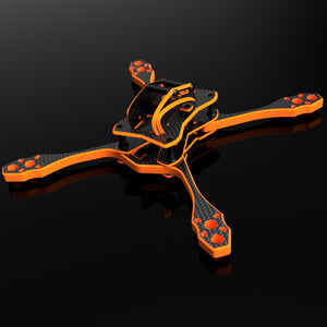 GOLDEN BEE V3.0 with Hybrid 8 mm thick arms - Robust little creature, for racing and freestyle