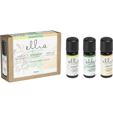 Ellia Essential Oil 3 Pk. Wellness with Seasonal Support - Relaxacare