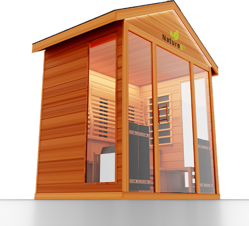 Hybrid 8PLUS Sauna-Steam and Infrared