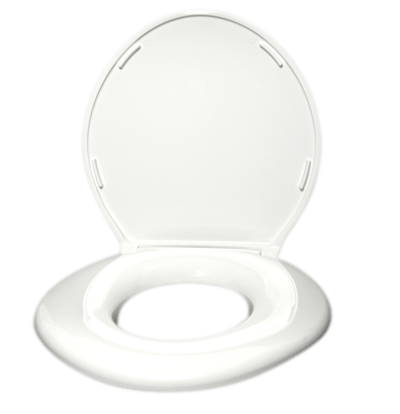 Big John Standard Toilet Seat Closed Front with Cover
