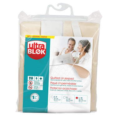 UltraBlok Quilted Underpad, Small