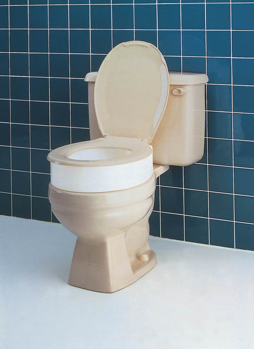 TOILET SEAT ELEVATOR FORROUND* OR STD TOILETS CP: 4 FRENCH - Relaxacare