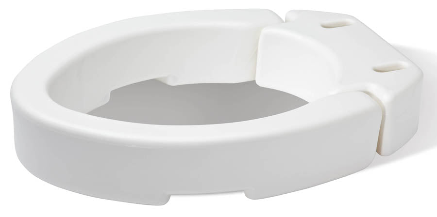 Hinged Toilet Seat Riser - Elongated - Relaxacare