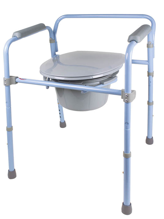Deluxe Folding Commode - Relaxacare