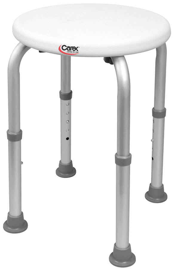 Adjustable Round Shower Stool - Relaxacare
