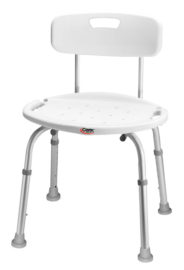 Adjustable Bath & Shower Seat with Back - Relaxacare