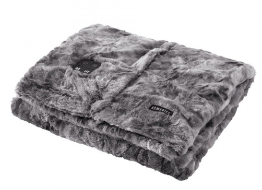 HoMedics Cordless Throw & Cape with Soothing Heat & Vibrating Massage - Relaxacare