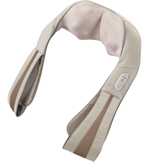 HoMedics Quad Action Shiatsu Kneading Neck & Shoulder Massager With Heat - Relaxacare