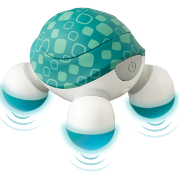 HoMedics® Line Extension Handheld Turtle Mini Massager - Relaxacare