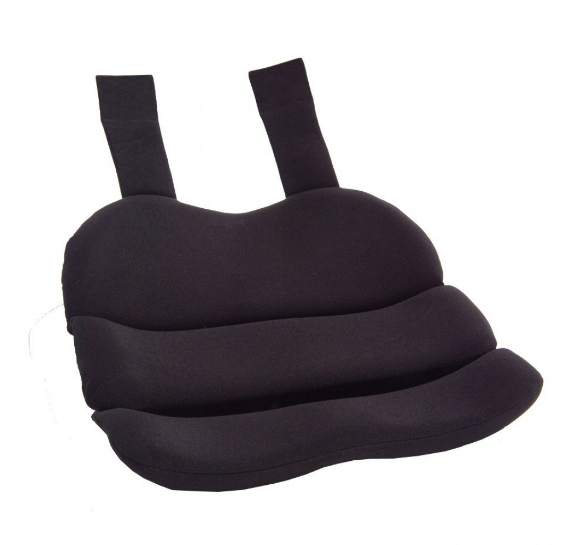 ObusForme CONTOURED SEAT CUSHION - BLACK - Relaxacare